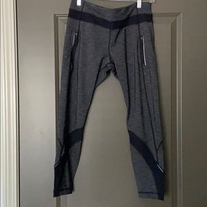 Lululemon Speed tight in space gray